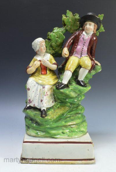 Staffordshire pearlware figure
