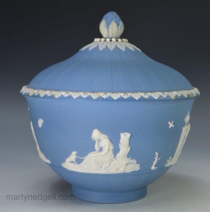 Turner jasper sugar bowl