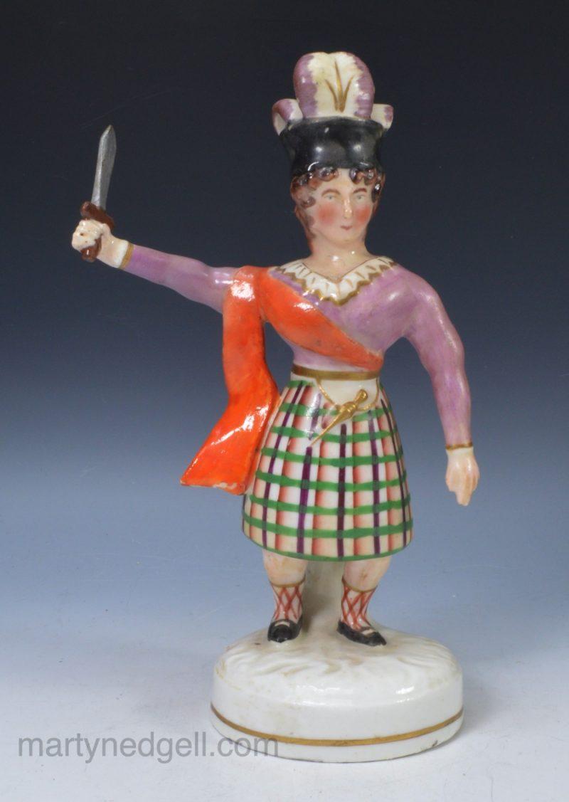 Porcelain actor figure