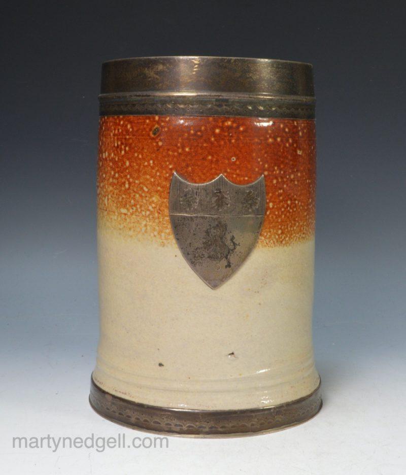 Fulham saltglaze mug
