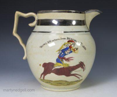 Napoleonic commemorative jug