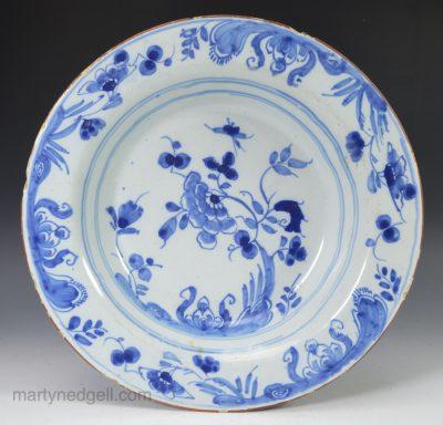 Liverpool Delft soup plate