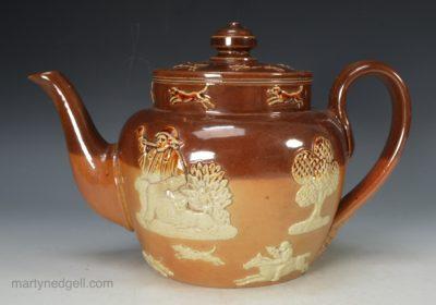 Doulton stoneware teapot