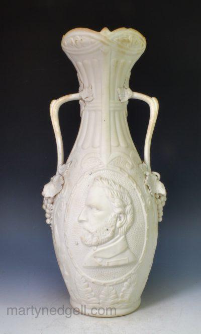 Parian vase
