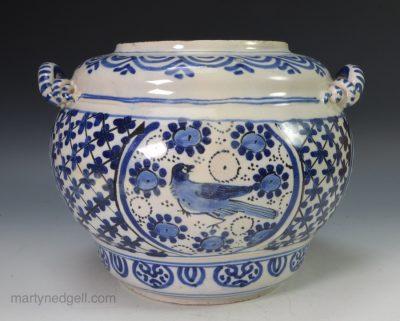 Bristol Delft storage jar