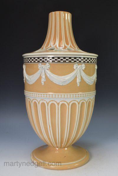 Wedgwood pearlware vase