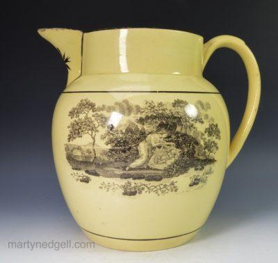 Drabware pottery jug